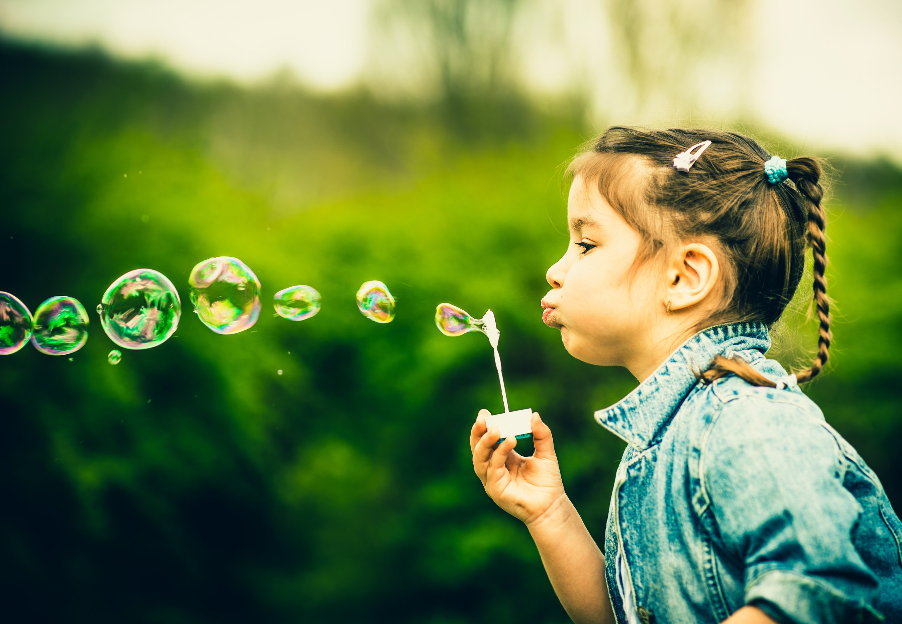 Blowing Bubbles, Depression Treatment (Abstract Science: August 27 - 31)