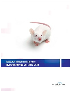 Research Models & Services NCI Grantee Price List Cover