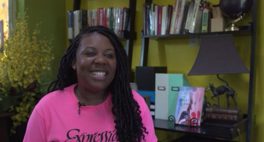 Tasha Thomas interviewed about her father's art