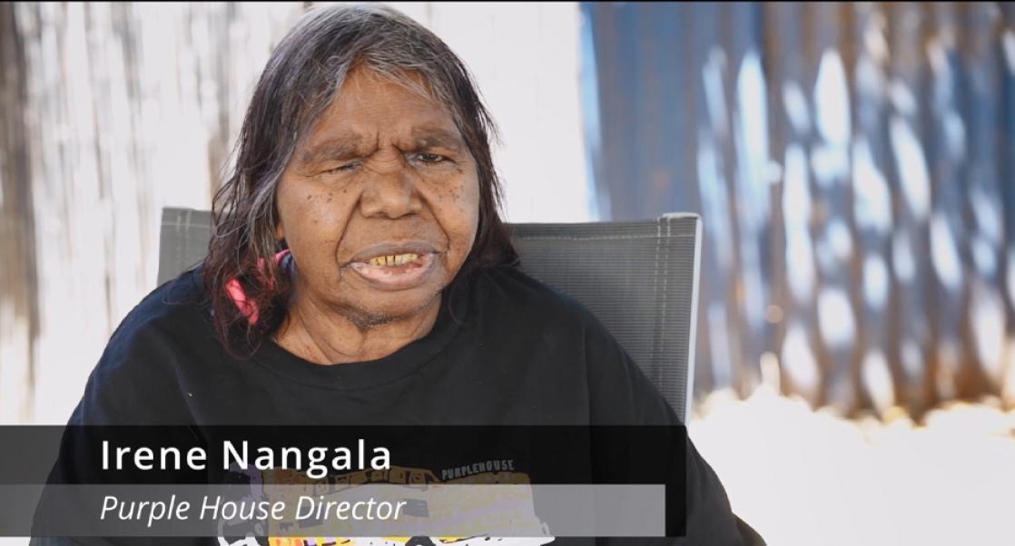 Irene Nangala, Purple House Director and dialysis patient
